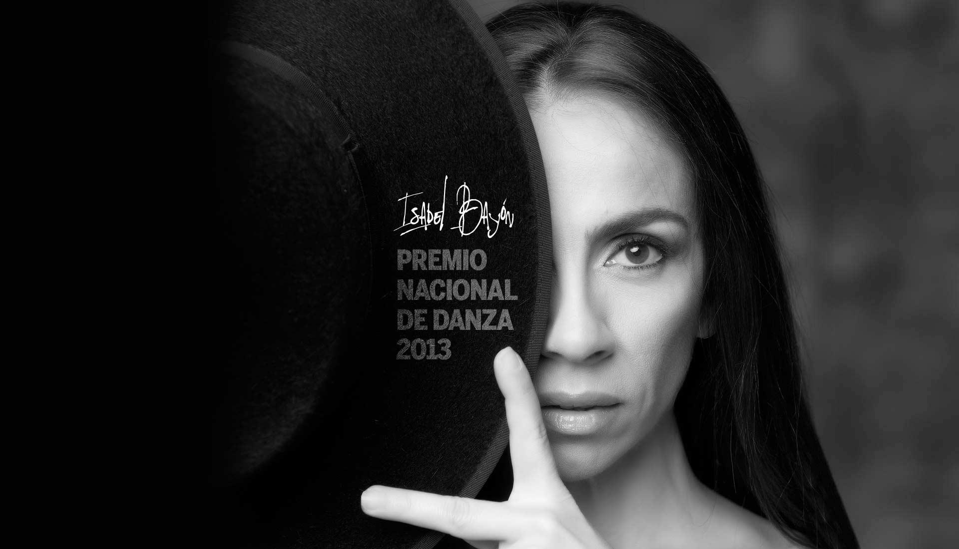 Isabel Bayón, Premio Nacional de Danza 2013